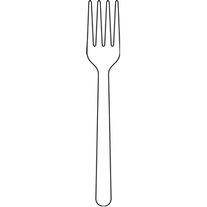 Fork clipart Cliparting black kid 2 clipart