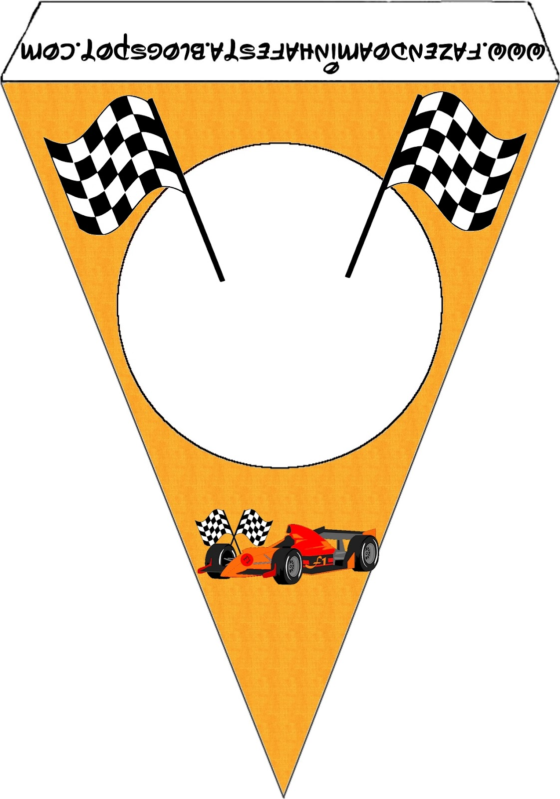 Formula 1 clipart banner Darling Printables 1 Party 1