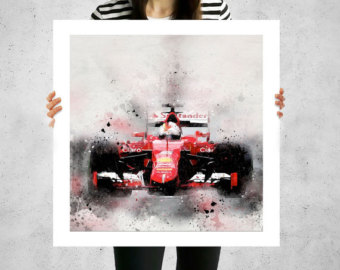 Formula 1 clipart banner One art 1 Etsy canvas