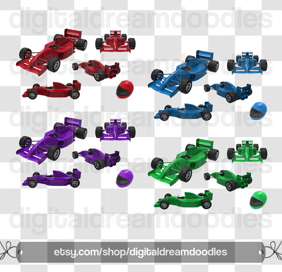 Race Car clipart purple Art Car  Race Clip