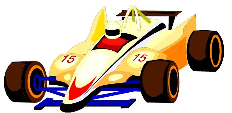 Formula 1 clipart race car Clipart Car Orange Race Car