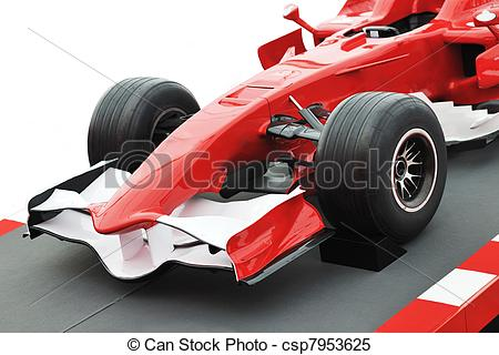 Formula 1 clipart speed car Red on auto speed formula