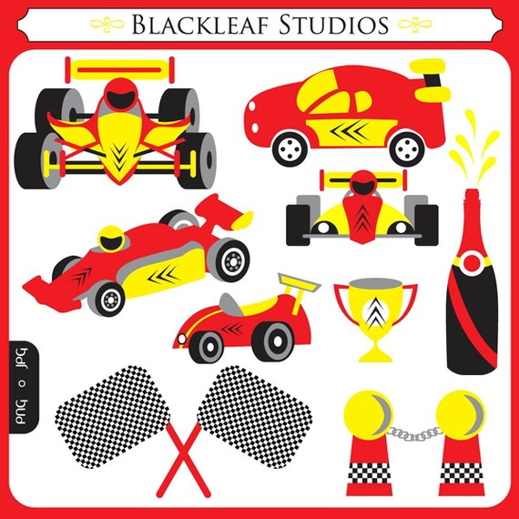 Formula One clipart #13