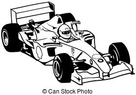 Formula One clipart racetrack 118 one Racing Illustration Illustration