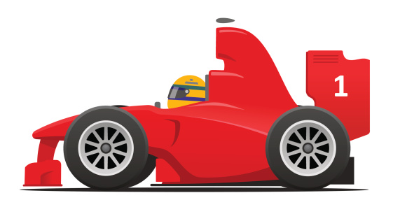 Formula One clipart kid car  clip race car Green