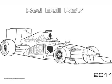 Formula One clipart kid car 1 Red Formula  Car