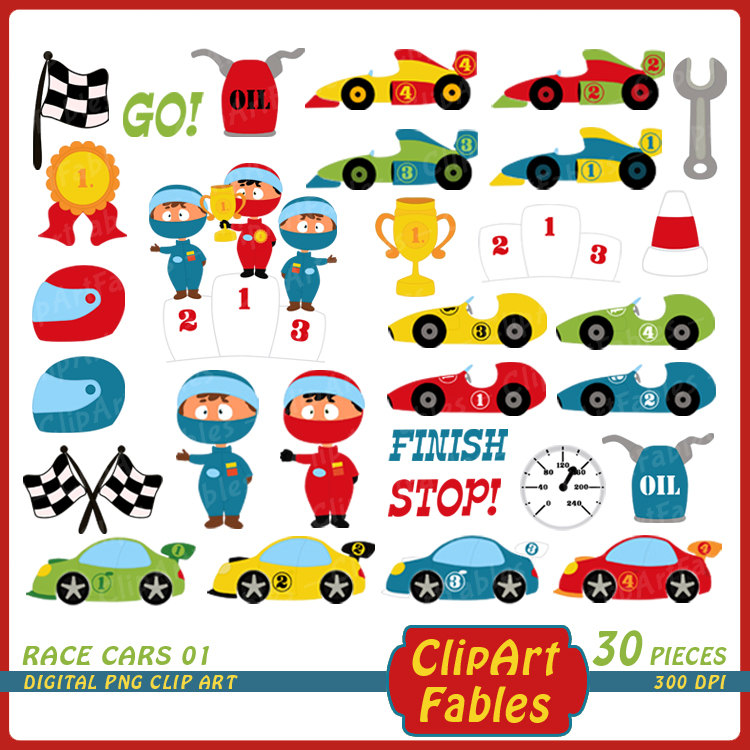 Formula One clipart kid car Race Racing  is clip