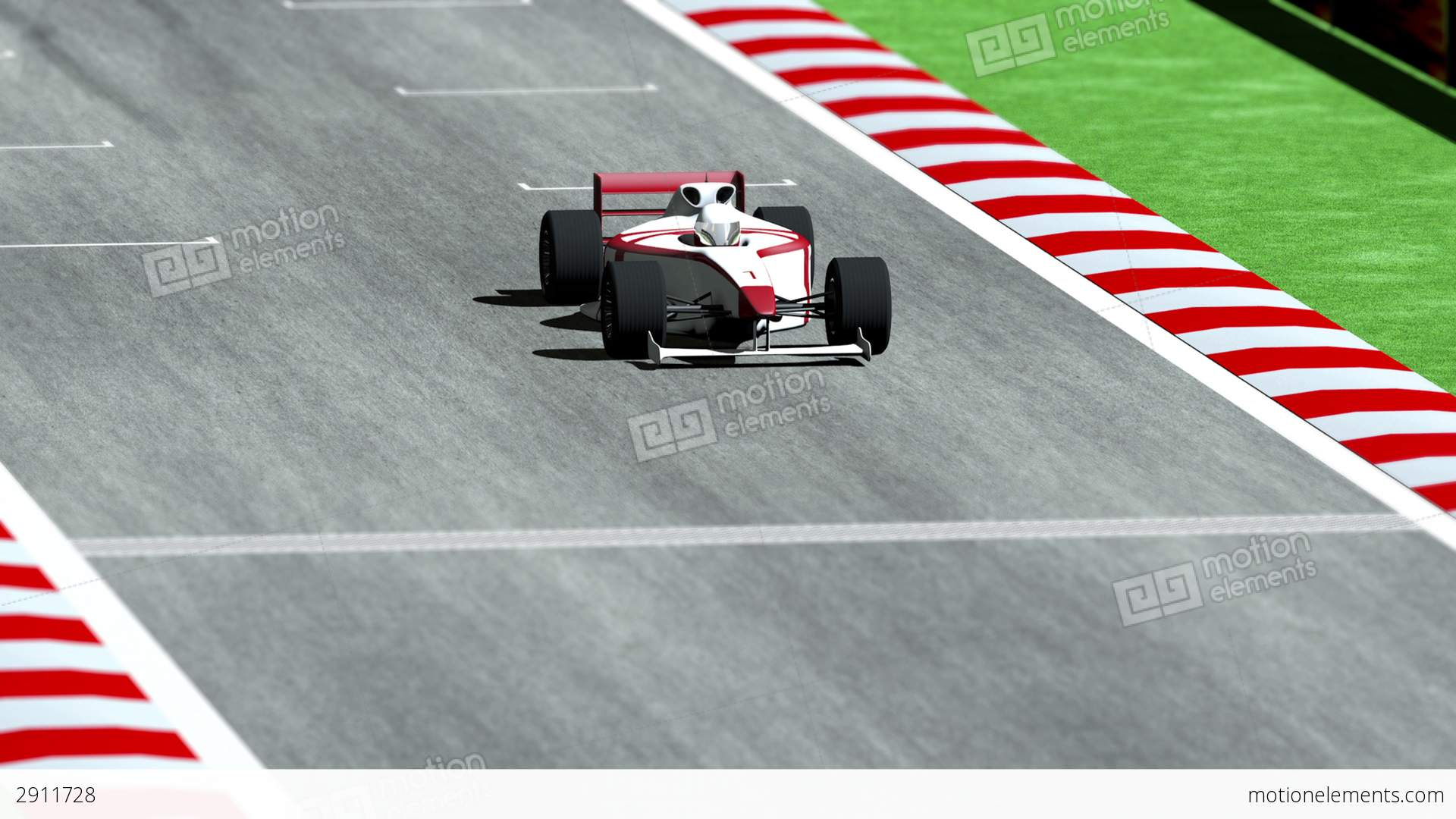 Formula One clipart racetrack On Track Animation Race 1