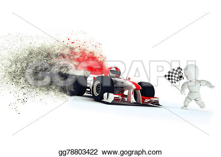 Formula One clipart speed car Illustrations render gg78803422 speed Stock