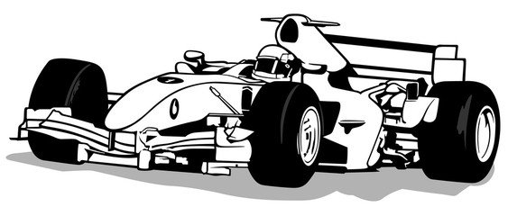 Formula One clipart speed car And