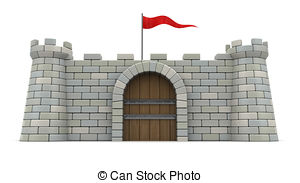 Fort clipart Red Fort of Illustrations with