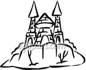 Fort clipart black and white Black fortress%20clipart Clipart Images And