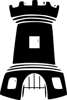 Fort clipart black and white Black stronghold%20clipart Clipart Images And