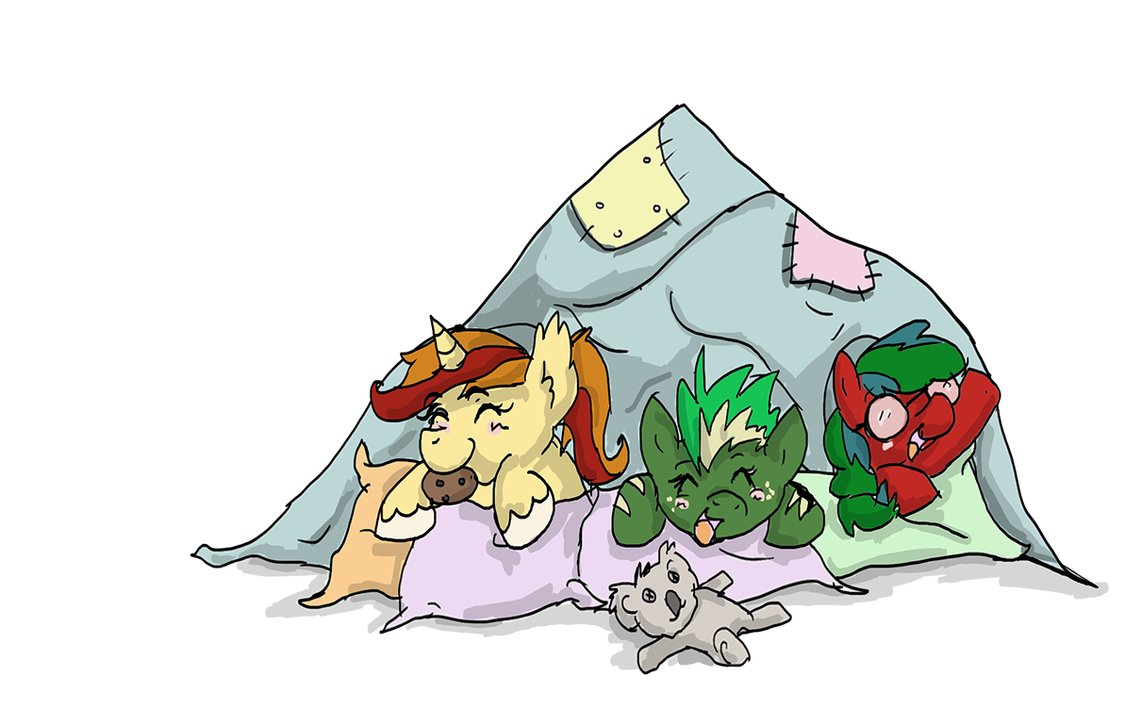 Fort clipart blanket Fort by on Pillow MysteryMint