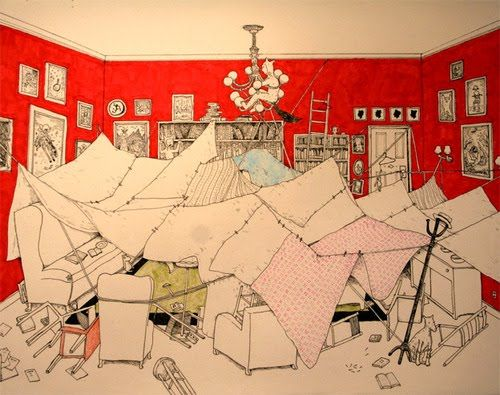 Fort clipart blanket Fort Pin and images on
