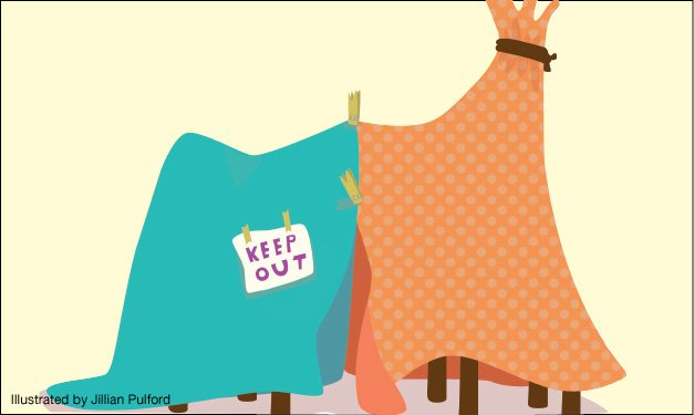 Fort clipart blanket A and make mix of