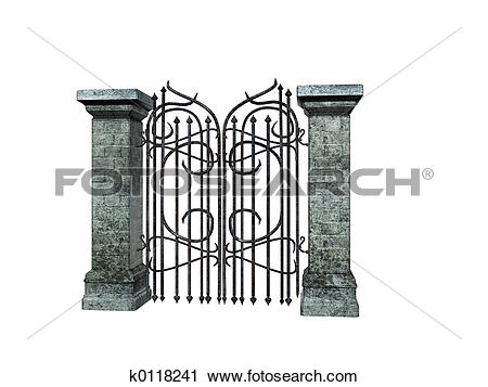 Mansion clipart castle gate Castle Illustrations Castle Stock gate