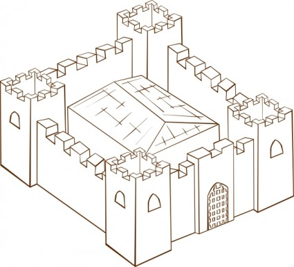 Fort clipart fortress Fortress Art Download Clipart Fortress