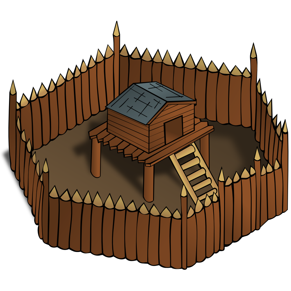 Fort clipart fortress Symbols: OnlineLabels Fort Clip Ugly