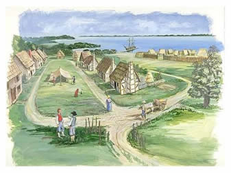 Fort clipart jamestown colony Http://www Jamestown gov/nr/travel/cultural_diversity/photos/HFC%20Jamestown%20Layout Werowocomoco jpg