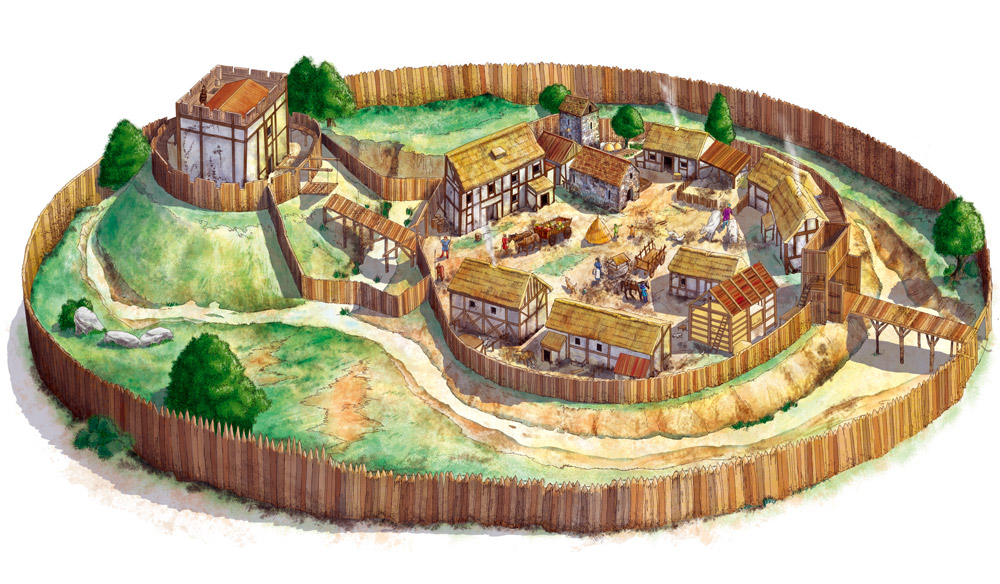 Medieval clipart villager Minecraft medieval Middle ages plan