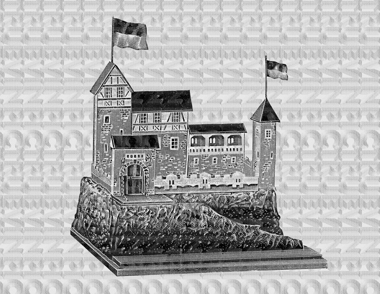 Fort clipart watch tower  fort instant old scrapbooking