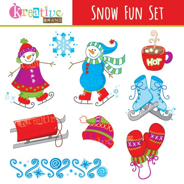 Holydays clipart winter wonderland FUN Snow Mygrafico on 66