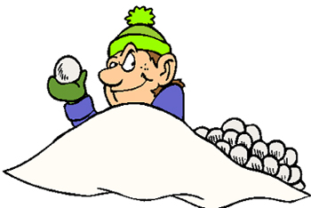 Fort clipart snowball Have a Snowball of Courtesy