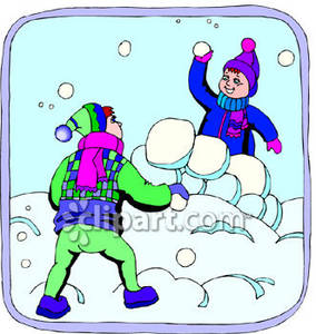 Fort clipart snowball (28+) fight snowball clip Snow
