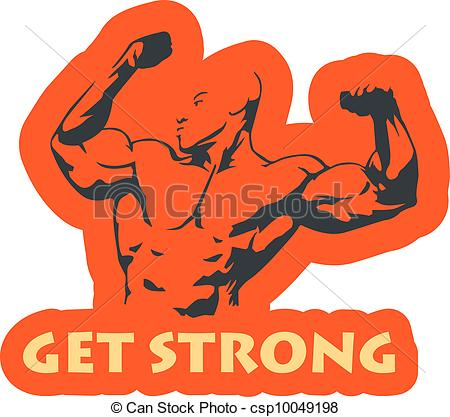 Fort clipart Vector Vectors muscle Strong Get