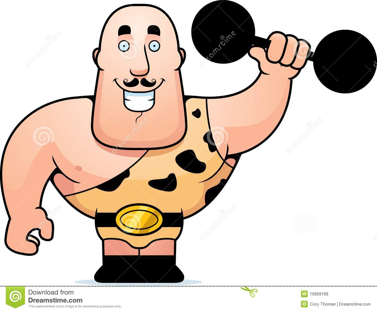 Carneval clipart strong man Musclemen  Clipart man Free