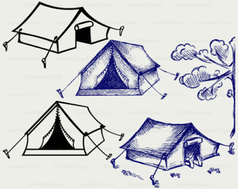 Tent clipart lds Tent tent svg tourist Canvas