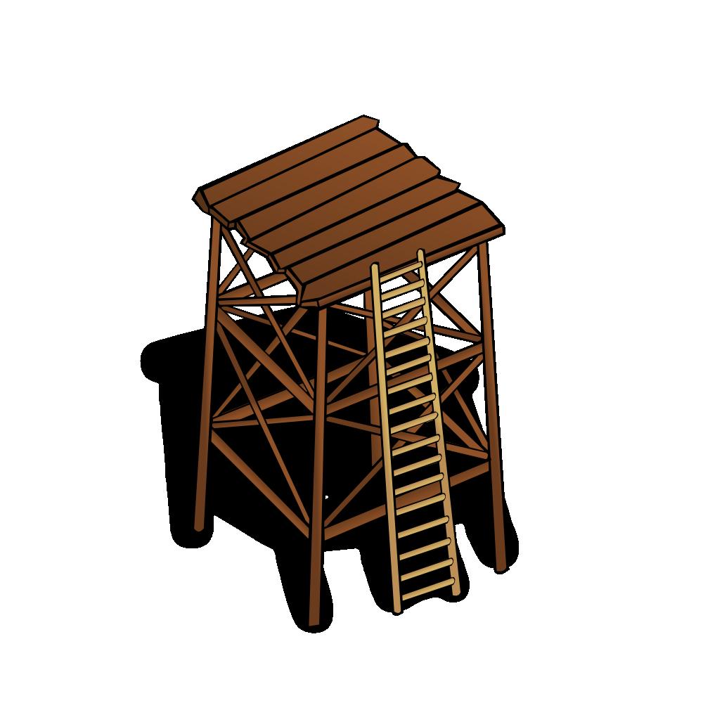 Fort clipart watch tower Map Symbols: Watchtower Watchtower Symbols: