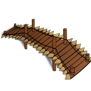 Fort clipart wood Bridge Map Wooden RPG Download