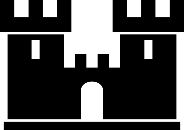 Fortress clipart brick Fortress svg Download Download drawings