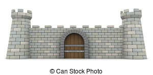 Fortress clipart stone wall Fortress 361 of Fortress Art