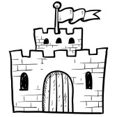 Castle clipart pink purple Fortress Download – Art Clipart