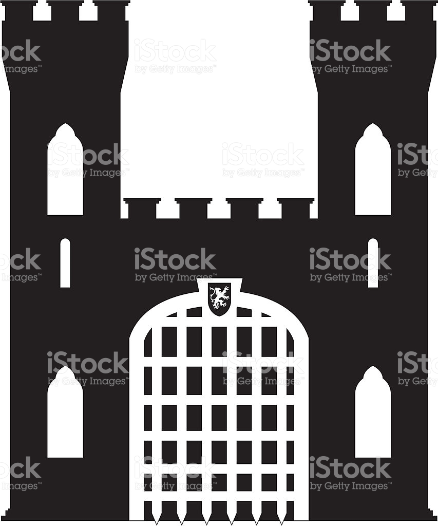 Fortress clipart castle door Clip Vector Clipground clipart Images