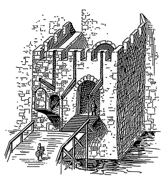 Fortress clipart castle drawbridge Art Drawbridge 3 Clip Page