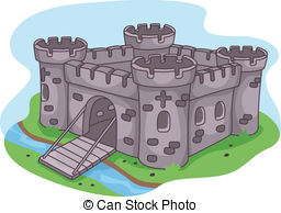 Fortress clipart castle drawbridge Royalty of  Fortress