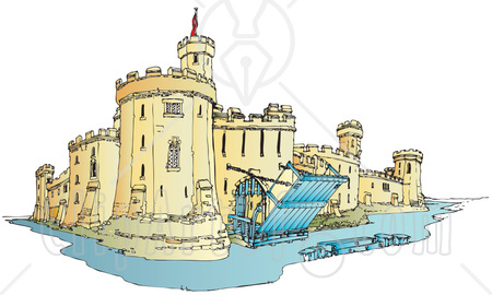 Fortress clipart tower CalebC The by Draw Castle