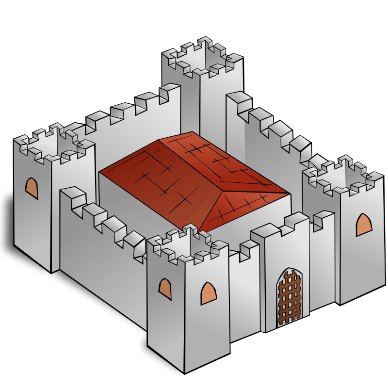 Fortress clipart cute Free Free Castles Castles Clipart