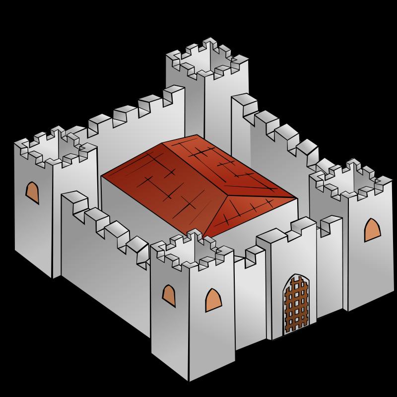 Fortress clipart cute Free art Clipart Clipart Castles