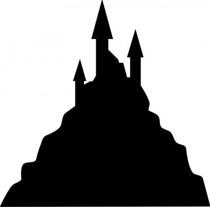 Castle clipart dark castle Page Clip Download Art Spooky