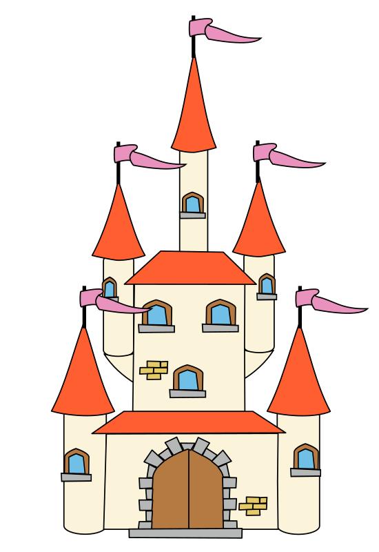 Structure clipart fairytale castle & Castle Clipart Images Clip