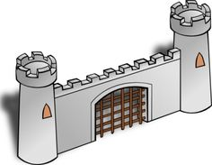 Fortress clipart moat Business clipart εικόνας για fortress