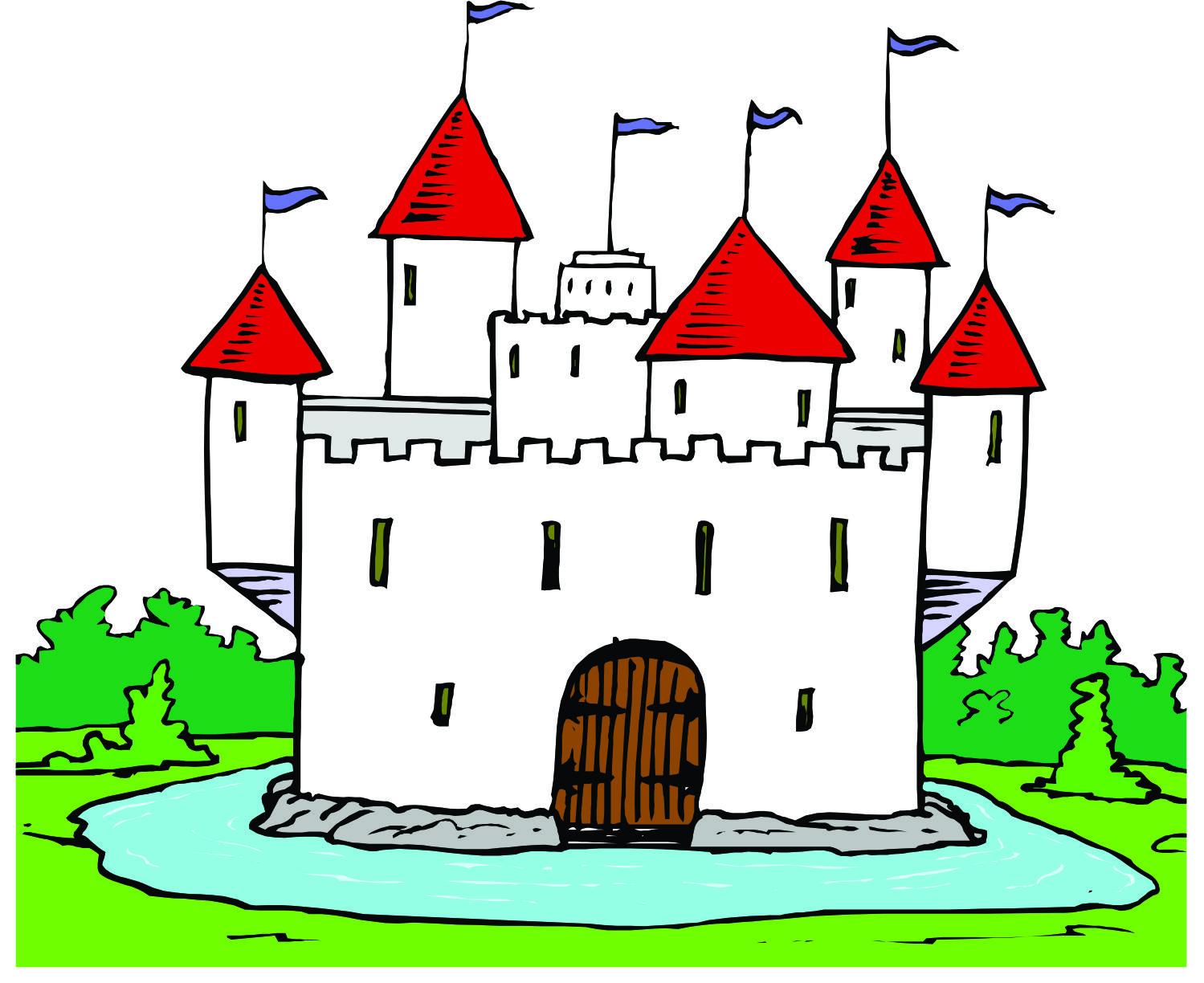 Fortress clipart moat Art Pictures Castle Cartoon Castle