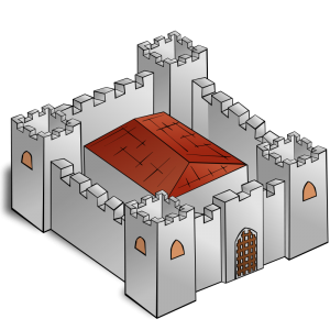 Fortress clipart simple Download Fortress Map RPG Fortress