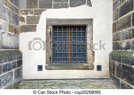 Fortress clipart stone wall  fortress Window set with