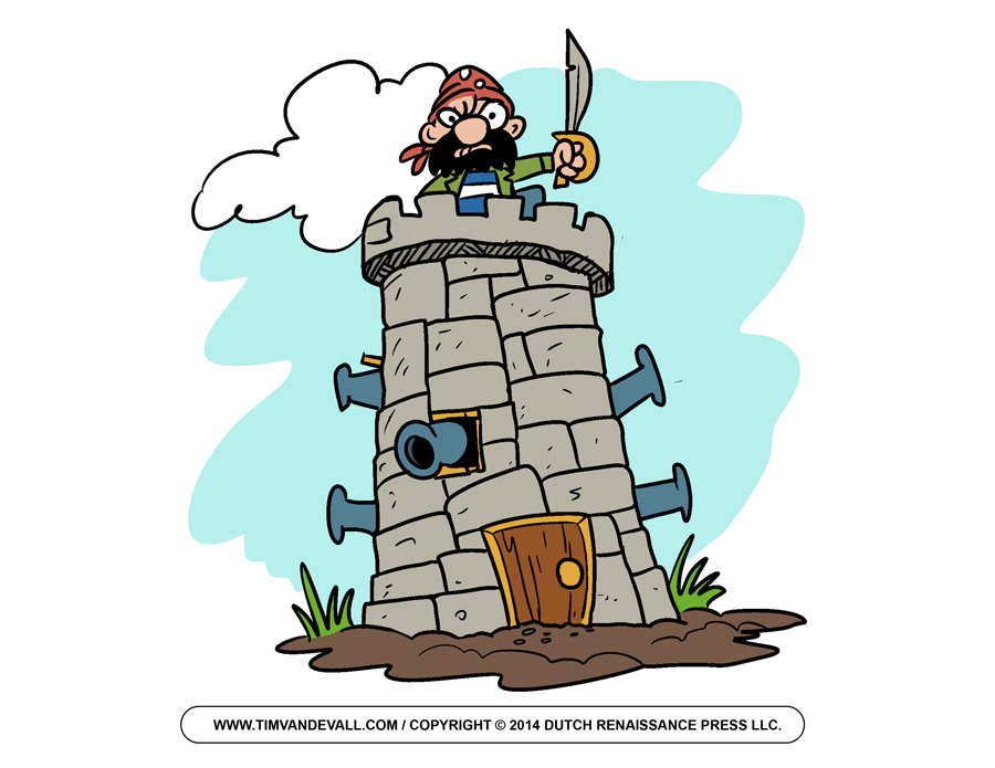Fortress clipart tower Pictures Art Images Free Kids